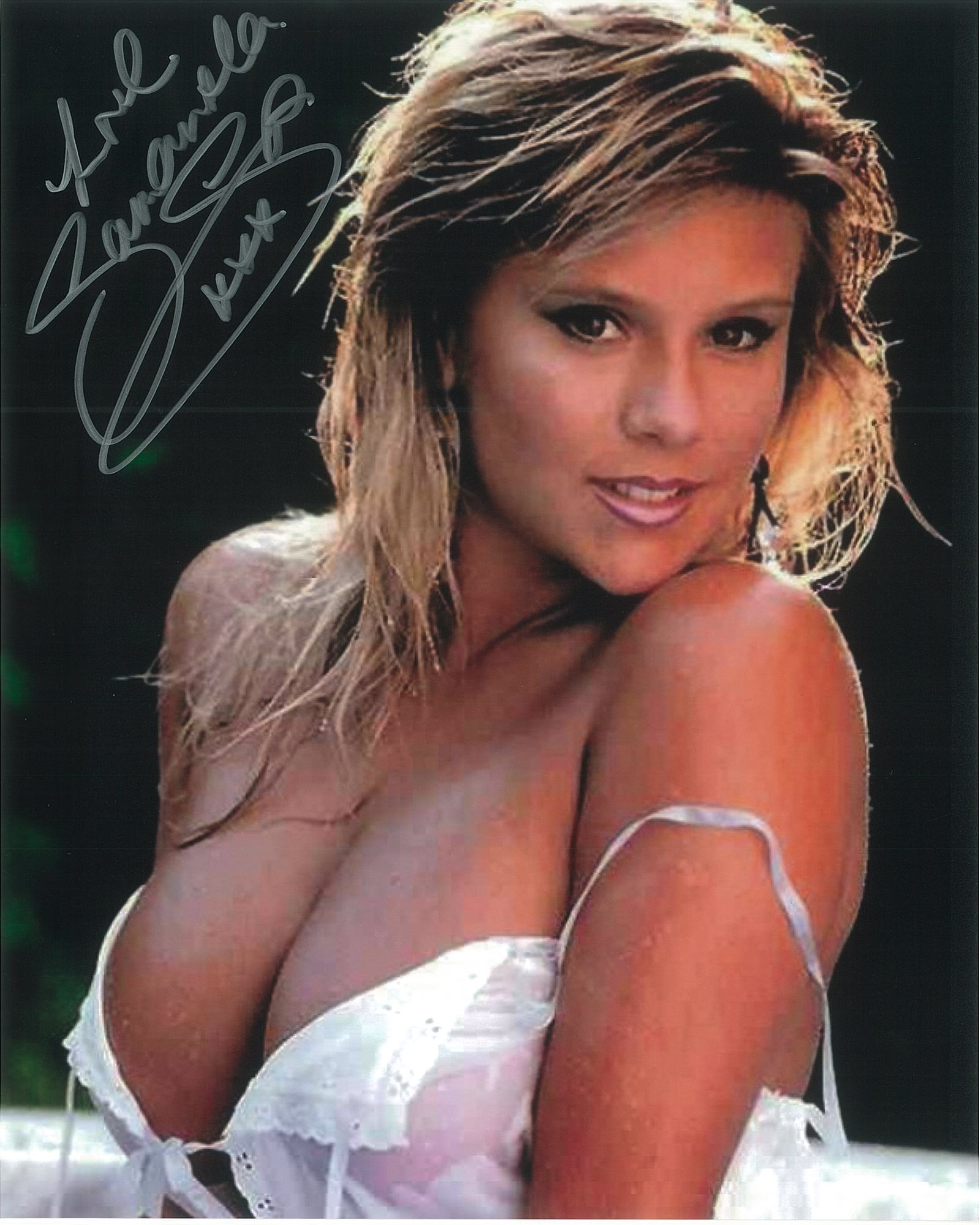 Samantha Fox Model Singer - Genuine Signed Autograph 8288